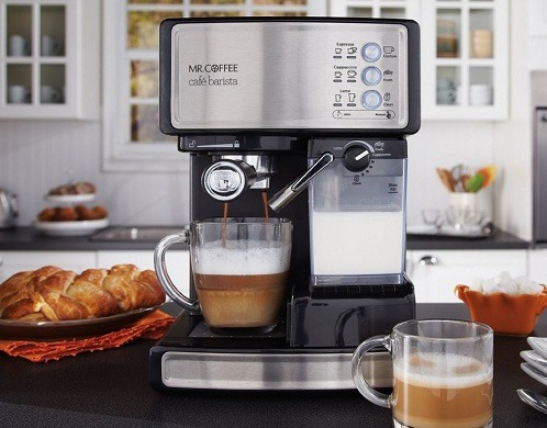 Mr. Coffee BVMC-ECMP1106 Espresso Maker Machine Review