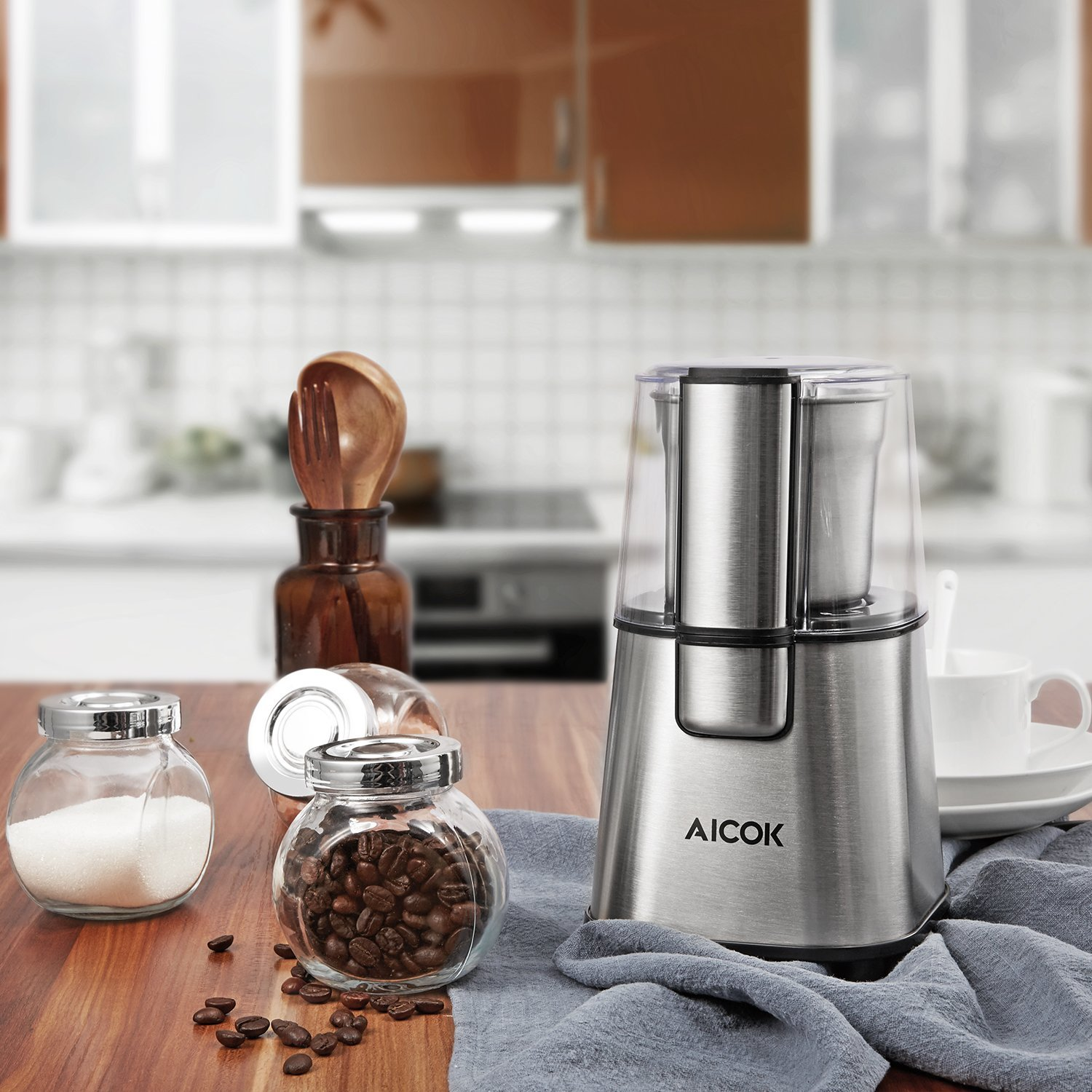 Aicok Electric Coffee Grinder Review