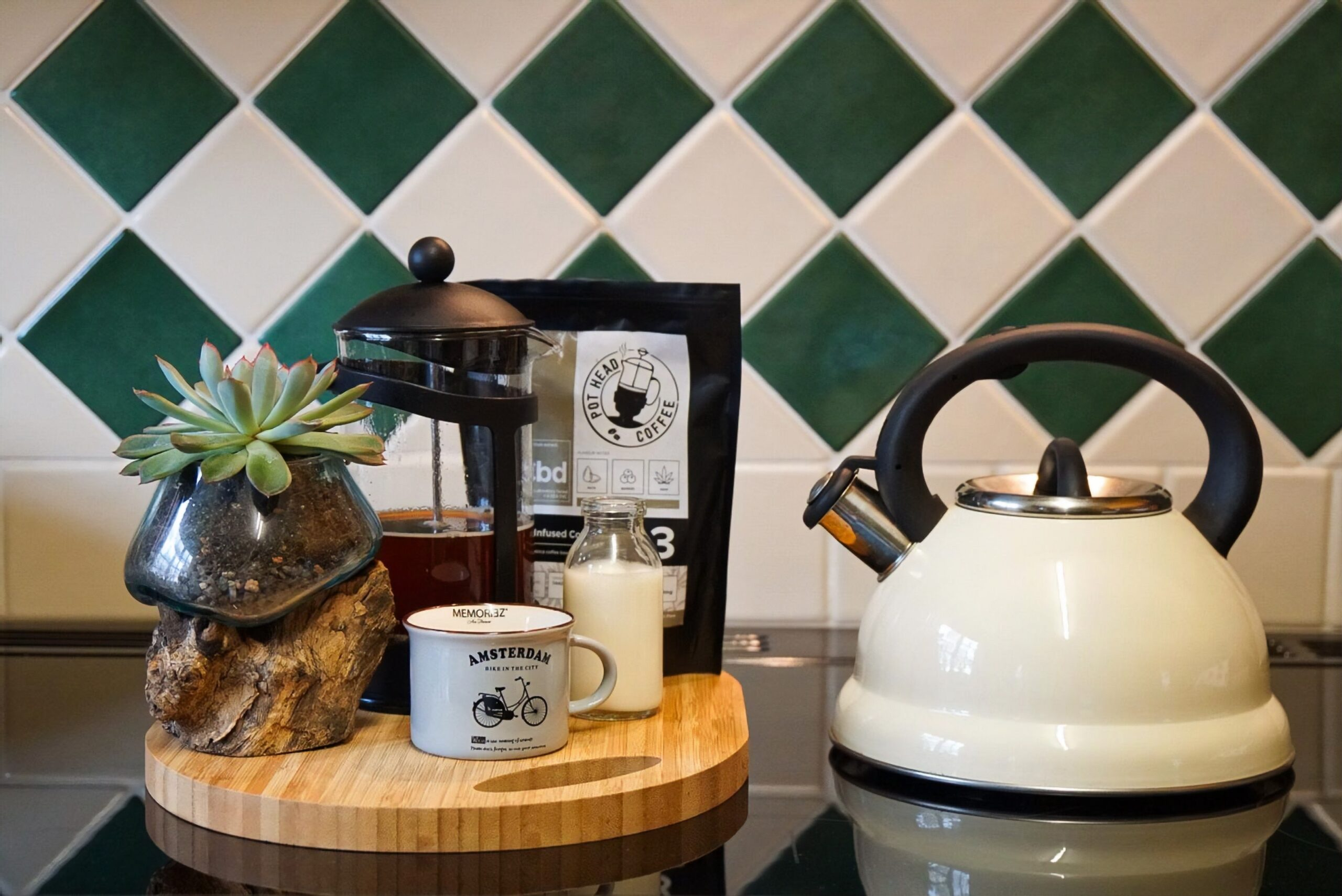 Pot and french press